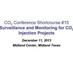 Course15-Fundamentals of CO2 Flood Surveillance 12-13