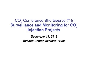 Course15-Fundamentals of CO2 Flood Surveillance 12-13